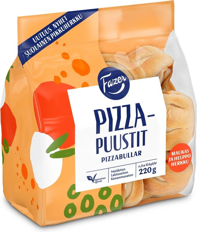 fazer pizzapuusti vegaaninen korvavuusti