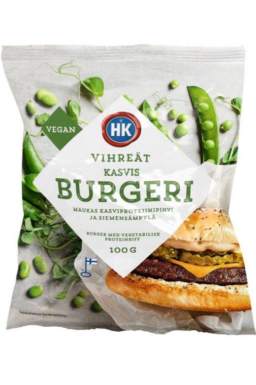 HK vegaaninen hampurilainen
