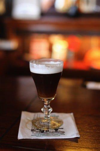 Vegaaninen Irish coffee